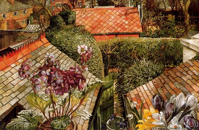 Кукхэм. Цветы в окне