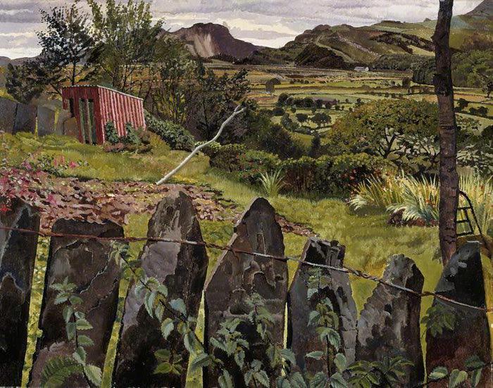ПЕйзаж в северном Уэльсе