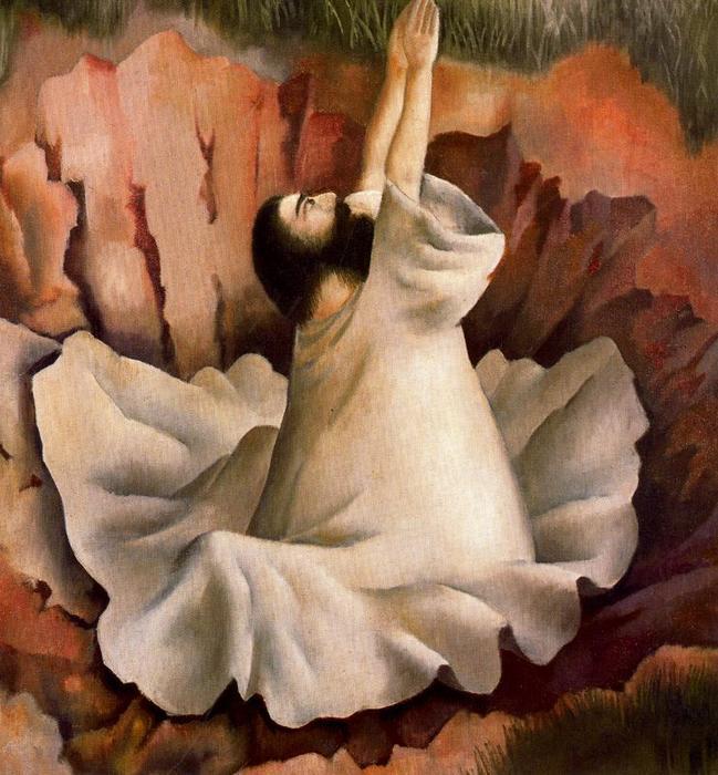 Христос в пустыне. Молитва