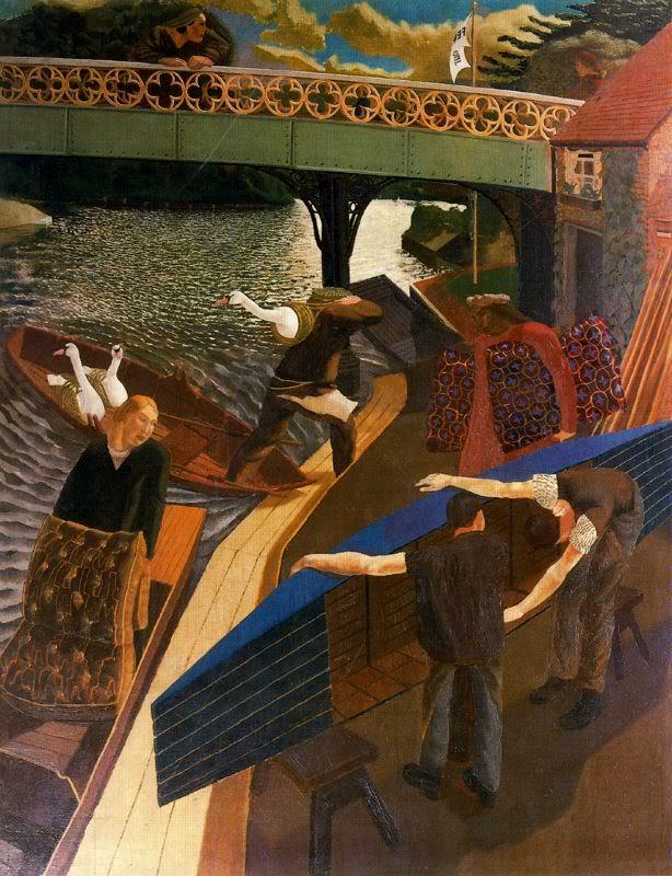 Поднятие лебедей в Кукхэме