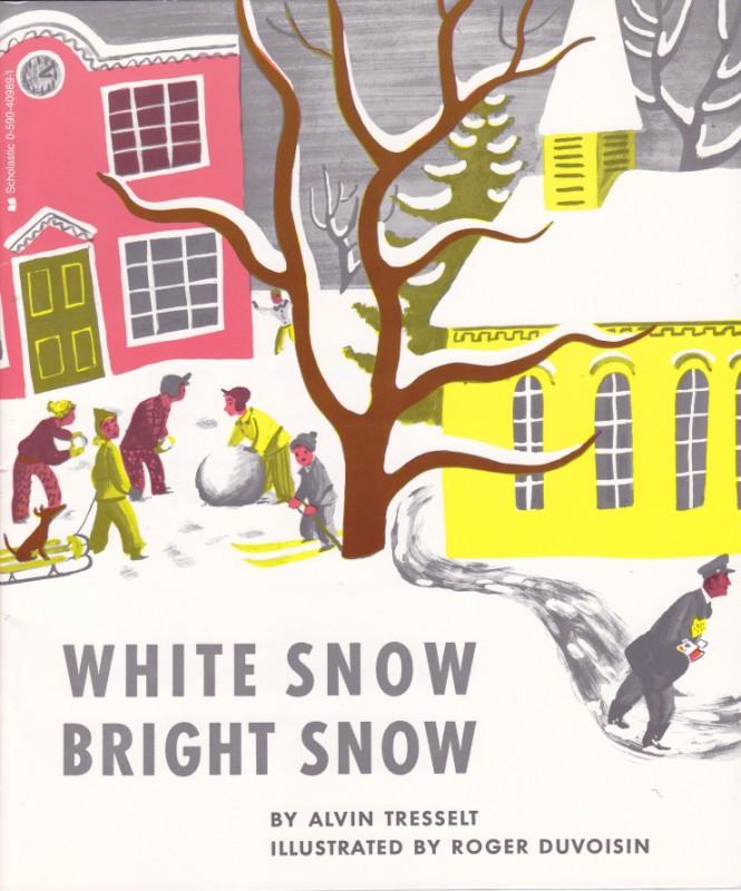 Белый снег, яркий снег