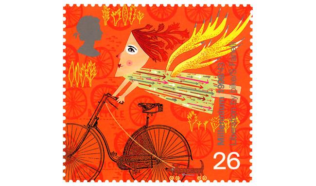 Иллюстрация для почтовой марки