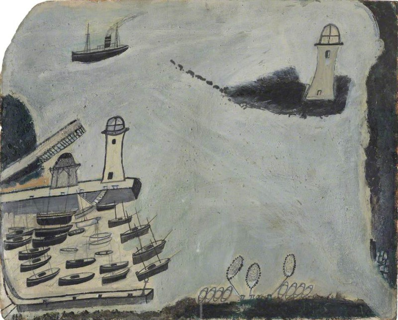 Гавань с двумя маяками