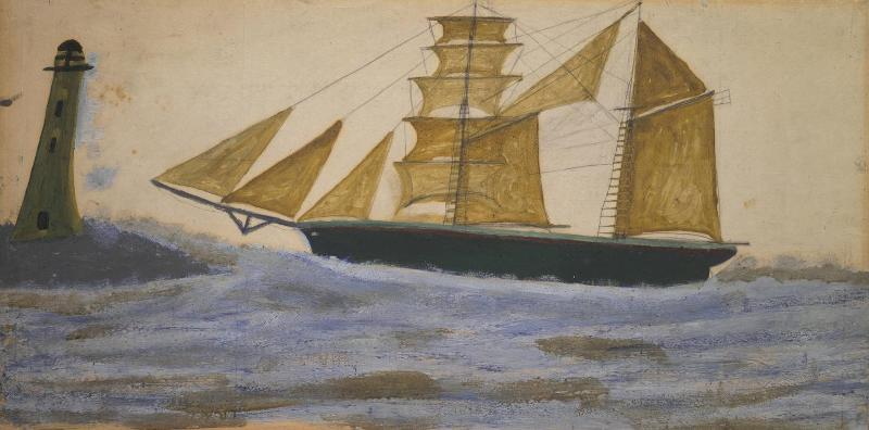 Двухмачтовое судно