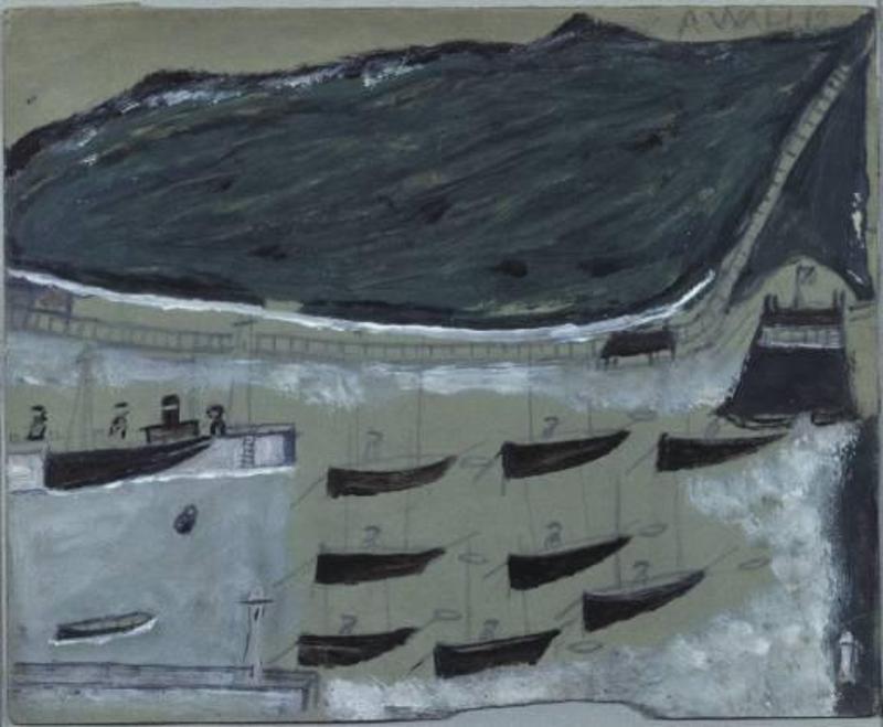 Лодки на стоянке в Сейнт Ив