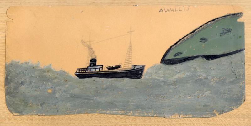 Большой и маленький пароход