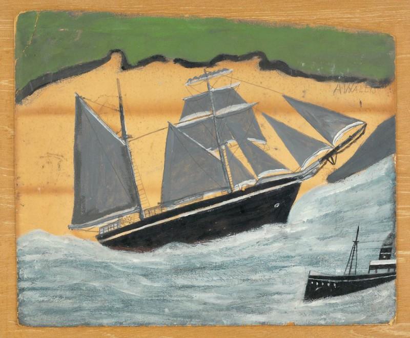 Парусный корабль Сэнди Бич