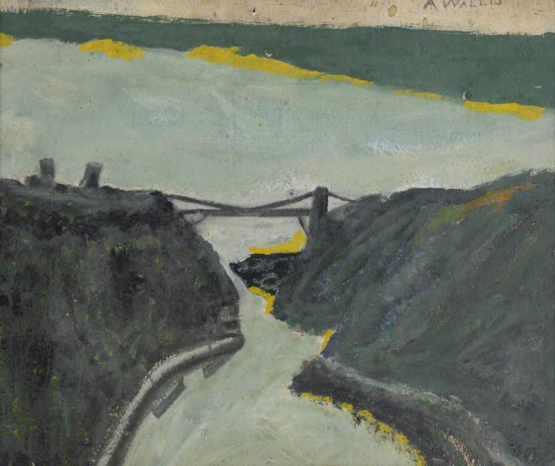 Устье реки в овраге