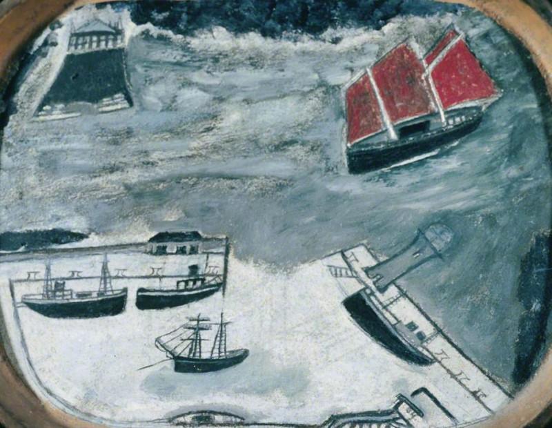Шхуны входят в гавань