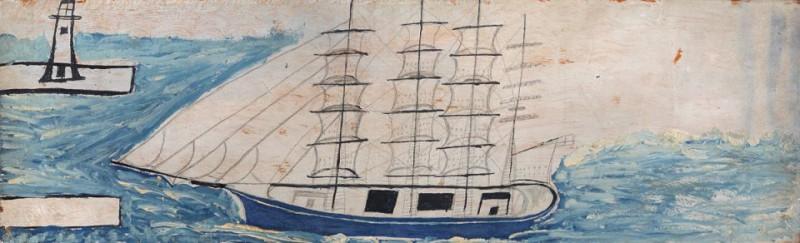 Четырёхмачтовый парусный корабль