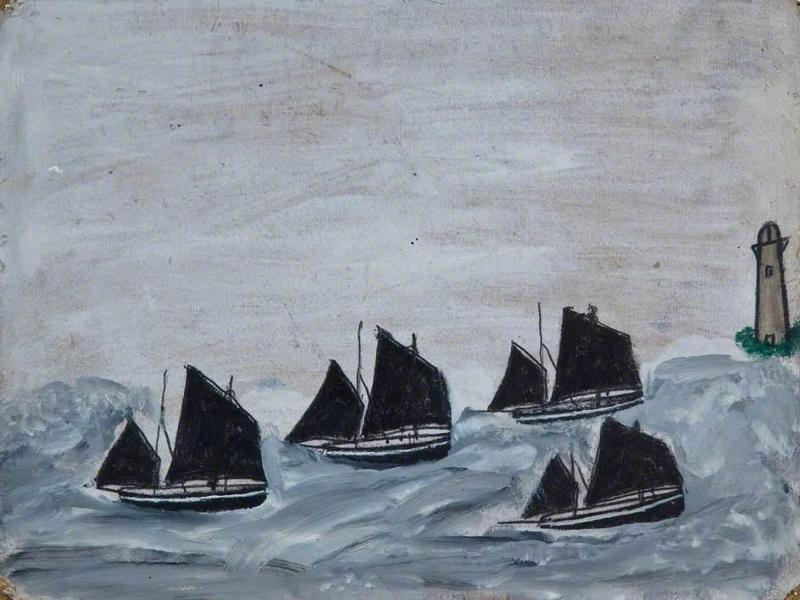 Четыре лодки
