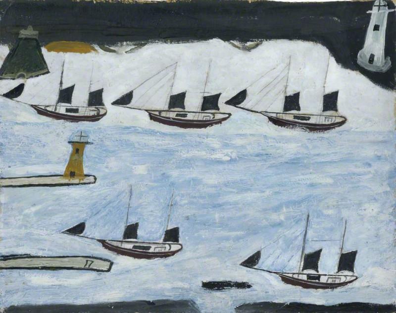 Пять лодок Маунтс Бей