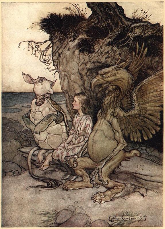 Алиса, Черепаха и Грифон