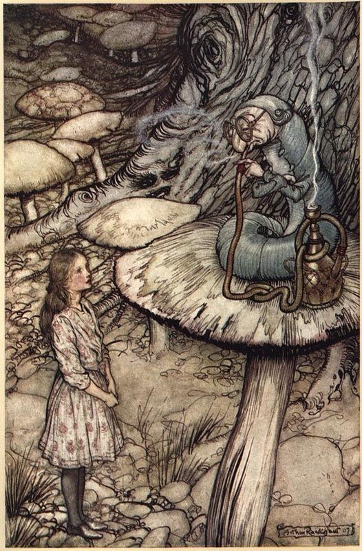 Алиса и Синяя Гусеница