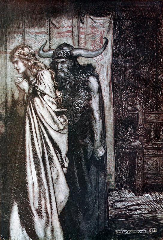 Брунгильда и Гюнтер