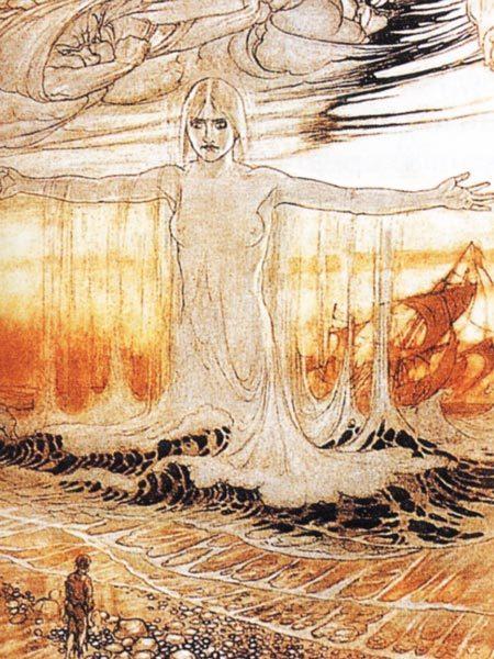 Ран - скандинавская богиня воды великанша штормовое божество моря