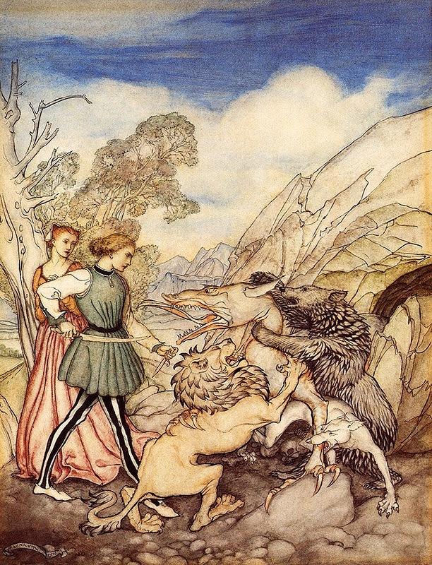 Цезарина и дракон