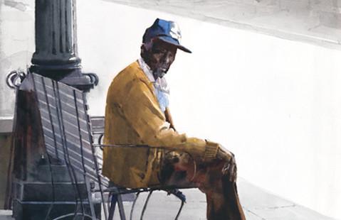 Дин Митчелл - художник, который способен шагнуть за плоскость листа.