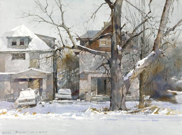 Зимняя дорога Гилхема