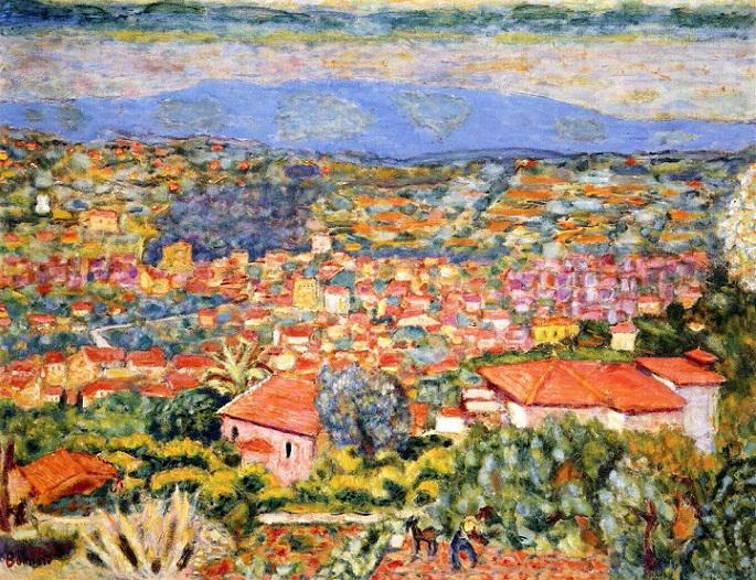 Вид Ле-Канне, крыши