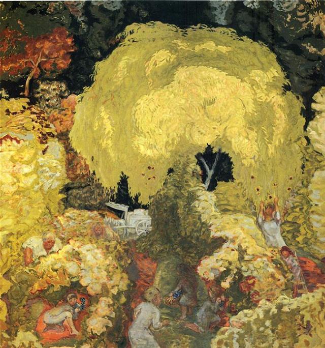 Осень, сбор фруктов