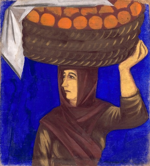 Разносчица апельсинов