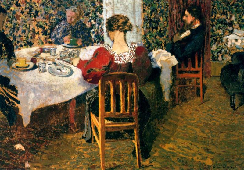 Завтрак у мадам Вюйар