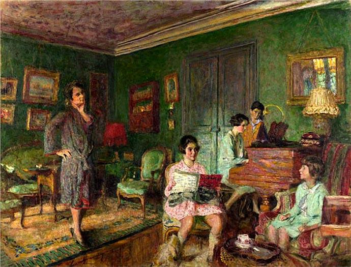 Мадам Вормстер с детьми