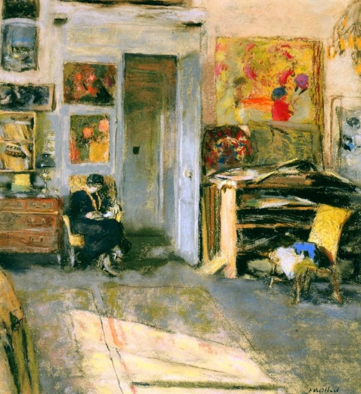 Мадам Хессель в студии В