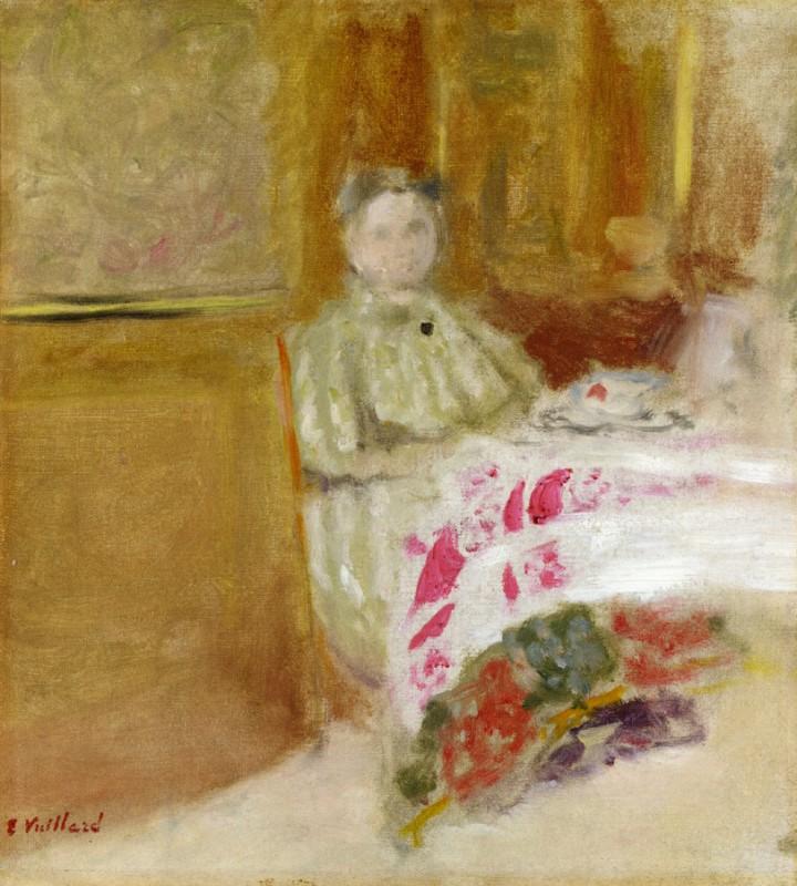 Мадам Вюйар за столом