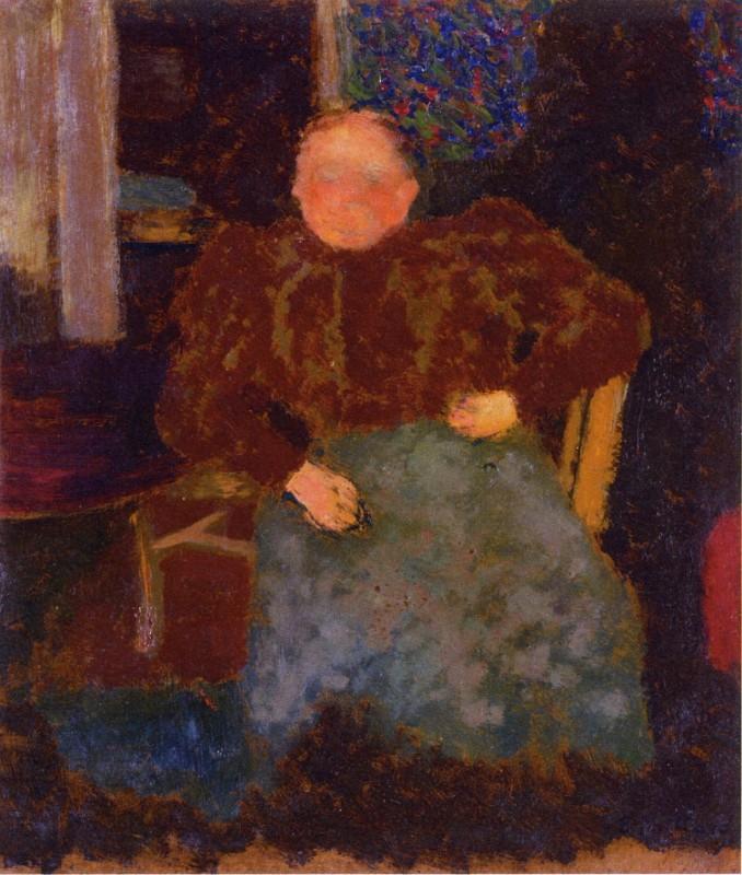 Мадам Вюйар сидит