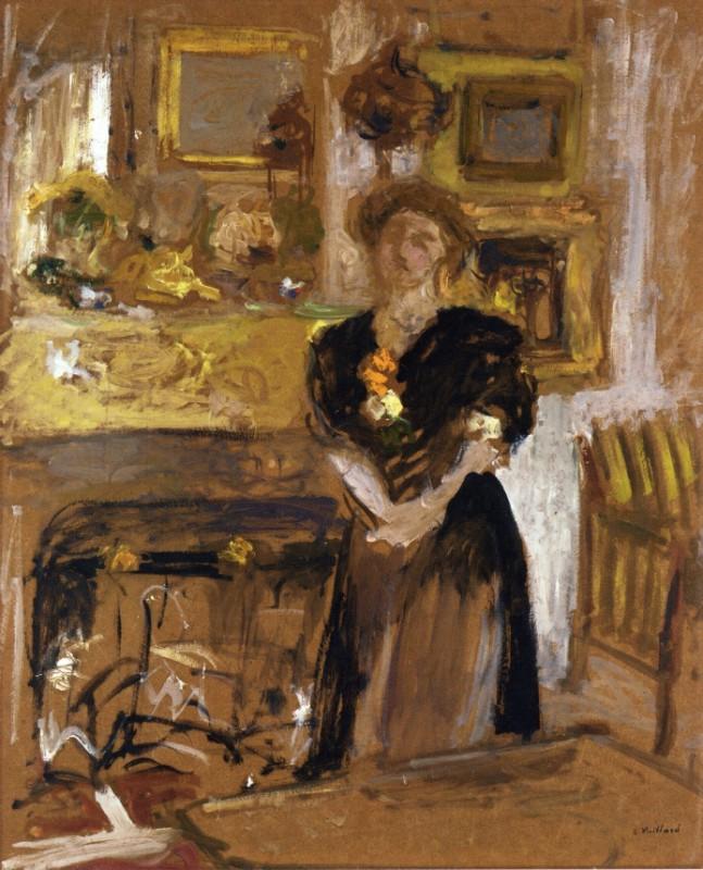 портрет мадам Мари де Жардин-Фонтан