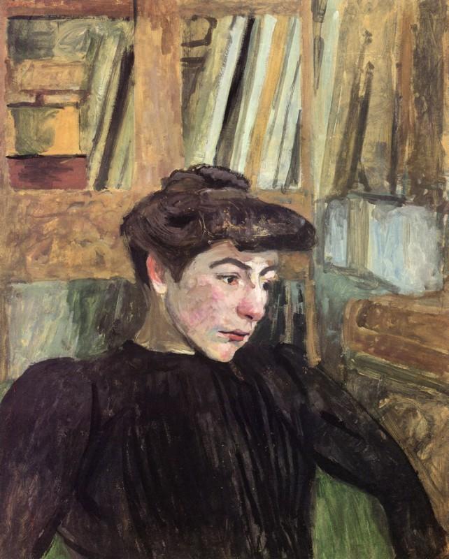 Женщина с чёрными бровями