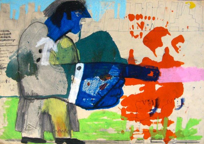 Рисунок для коллекции музея современного искусства