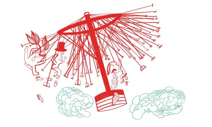 """Иллюстрация к выставке """"Kids Love Design"""""""