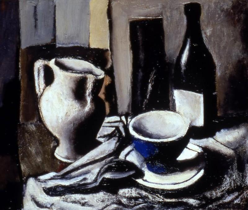 Натюрморт с голубой чашей