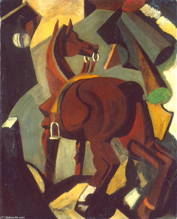 Осёдланная лошадь