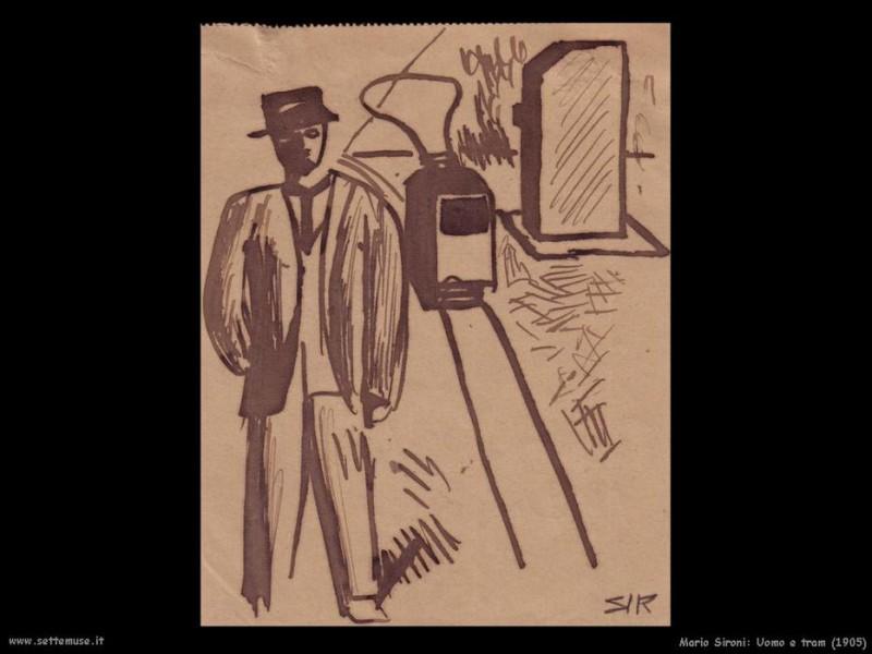 Человек и трамвай