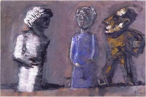 3 тотемные фигурки