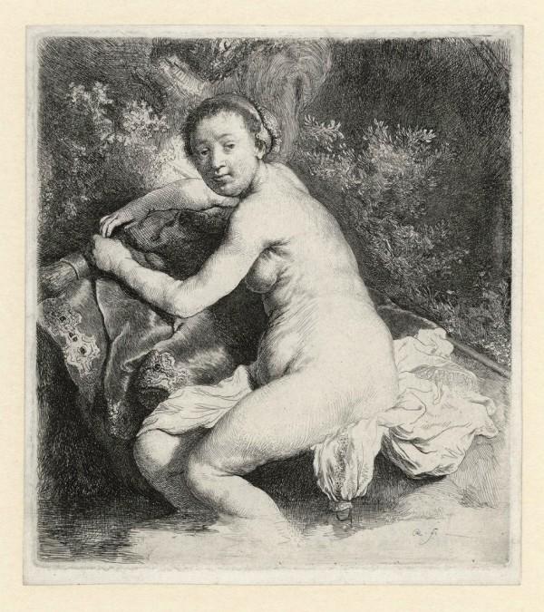 Рисунок обнажённой натуры