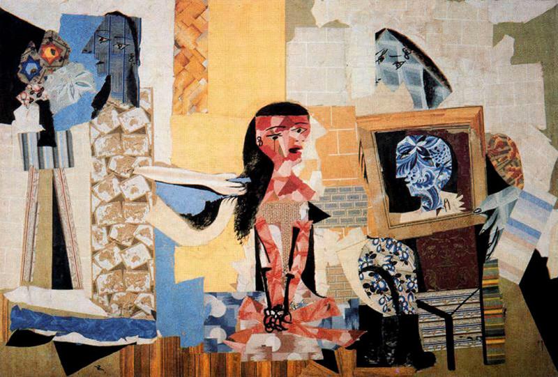 """Пабло Пикассо """"Женщины в их туалетной комнате"""""""