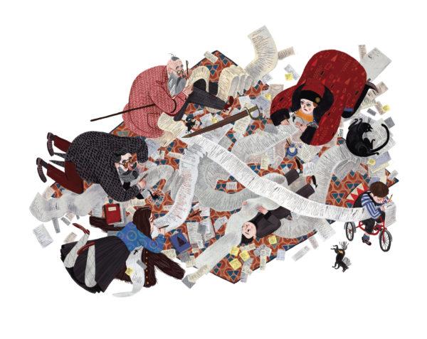Джулия Сарда: Иллюстрация классической детской литературы и не только