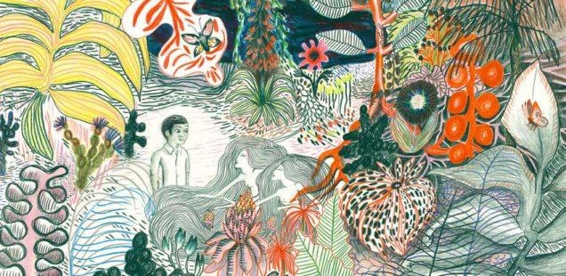 Автор и иллюстратор детских книг Китти Кроутер