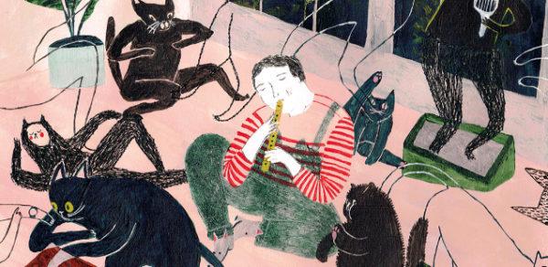 Cпонтанность и сюрреализм в иллюстрациях Джули Ван Ваземаел