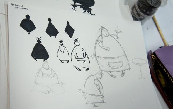 Мастер-класс по иллюстрации Евгения Антоненкова