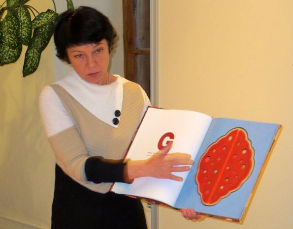 Художник и преподаватель Татьяна Никитина