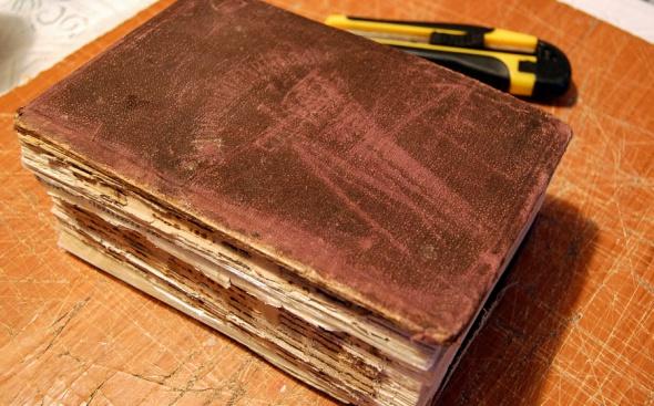 Реставрация книг мастер класс