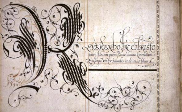 Мастер-класс «Историческая каллиграфия. Почерк эпох» Шрифтовая Композиция Готика