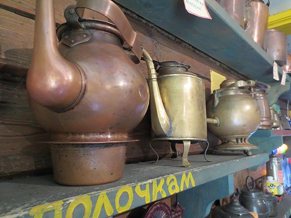 Музей чайника в Переславле-Залесском