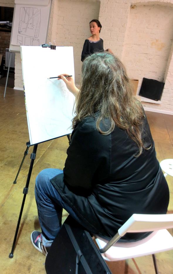 Рисование в школе Bratec Lis School
